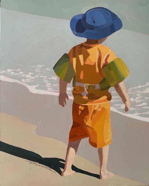 Lori Mehta, 'Safety Orange', 2015-2019, Copley Society of Art