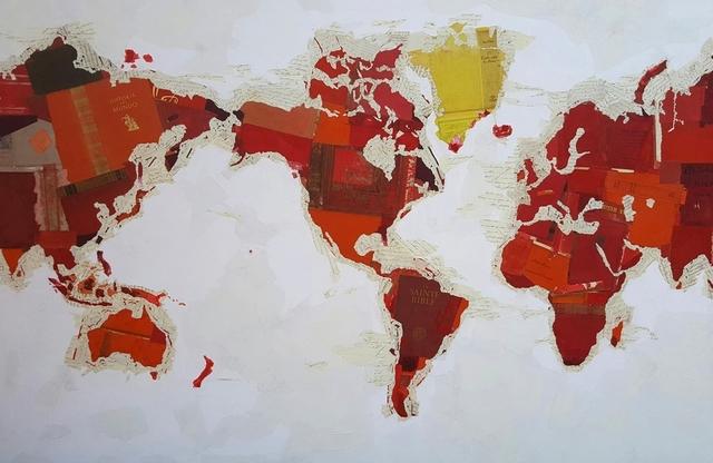 , 'Religious Map,' 2017, Villa del Arte Galleries