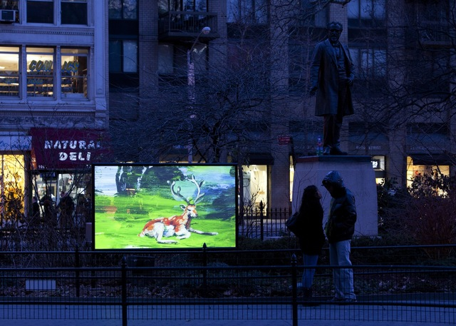 , 'Deer,' 2011, Madison Square Park