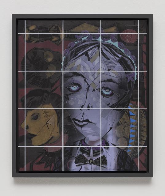 , 'Portrait of a Human (Pathos, Ethos, Logos, Kairos #13),' 2018, Lehmann Maupin