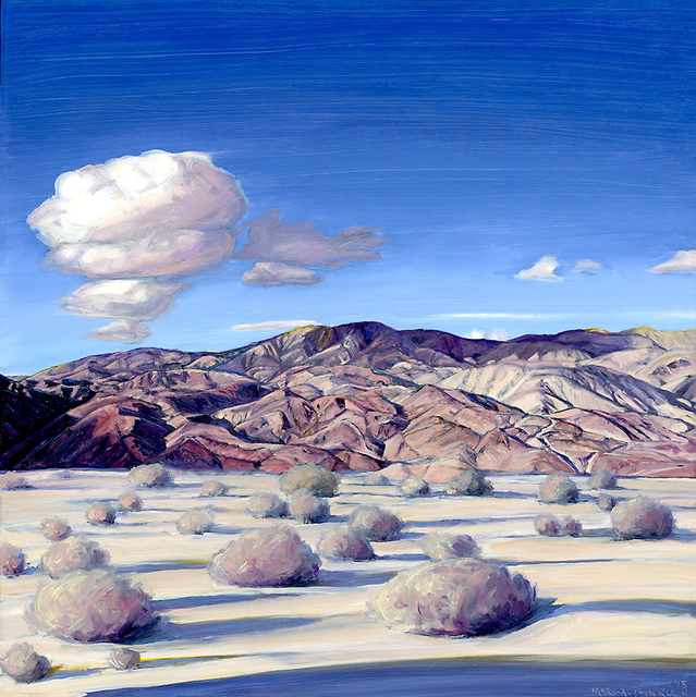 , 'Santa Rosa Mountains, Anza Borrego,' 2015, Sue Greenwood Fine Art