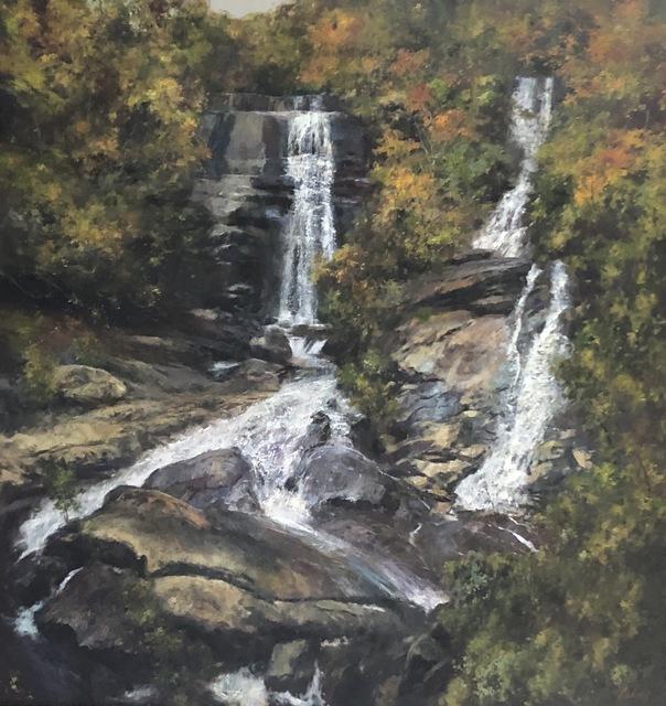 Julyan Davis, 'Twin Falls', 2018, Helena Fox Fine Art