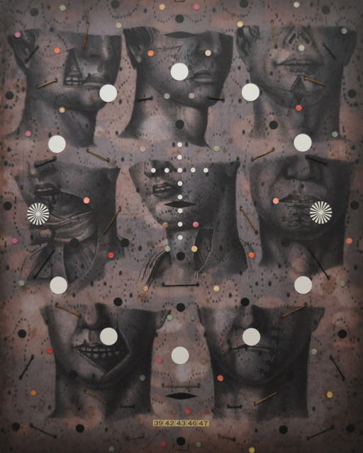 , 'Anatomy #1,' 2013-2014, Muriel Guépin Gallery