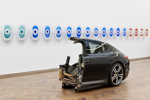 , 'CAKE (front) Window seat 10–21 A (back),' 2016, Kunsthalle Basel