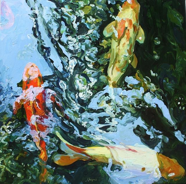 , 'Square Koi 9,' , Beth Urdang Gallery