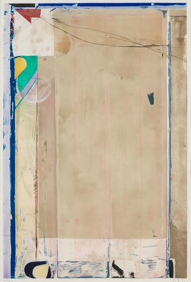 Richard Diebenkorn, 'Touched Red', 1991, Print, Etching with drypoint and aquatint, Upsilon Gallery