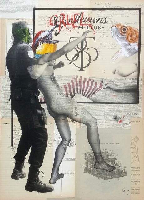 , 'Cruelmen's Club,' 2014, Galerie SOON