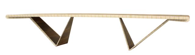, 'Desdobramento dinning table in jacaranda and acrylic,' 2015, Legado Arte