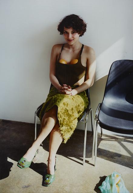 , 'Frau mit Orangen,' 2000, Belvedere 21