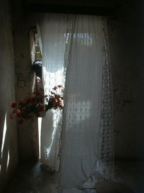 , 'Chambres Maliennes, Ma cousine Sounaba me tend des fleurs,' 2002, Galleri Flach