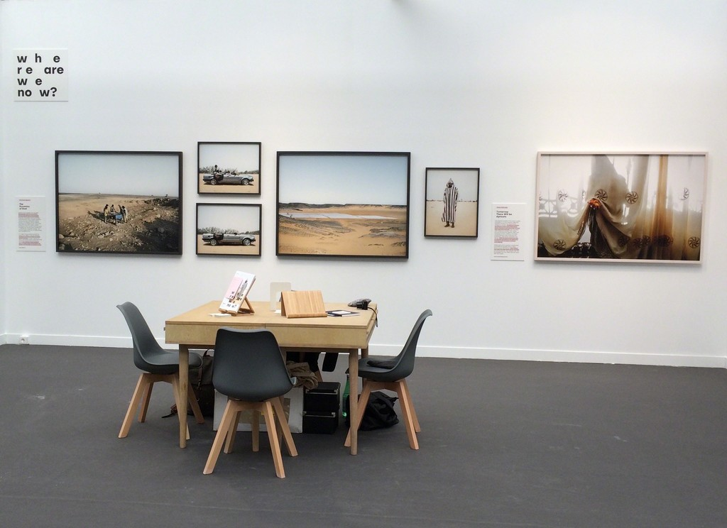 Where Are We Now? East Wing at Paris Photo 2016 (works by Philippe Dudouit and Tanya Habjouqa shown here)