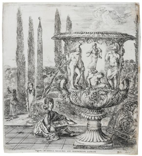 Stefano Della Bella, 'The Medici Vase', circa 1656, Forum Auctions