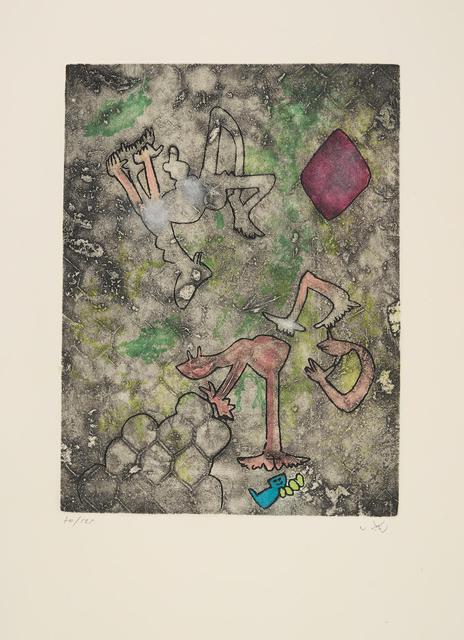 Roberto Matta, 'Centre Noeds - Plate VII', 1974, MLA Gallery