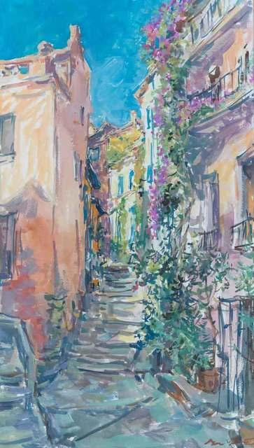 , 'Rue Fleurie a Collioure,' 2004, Catto Gallery