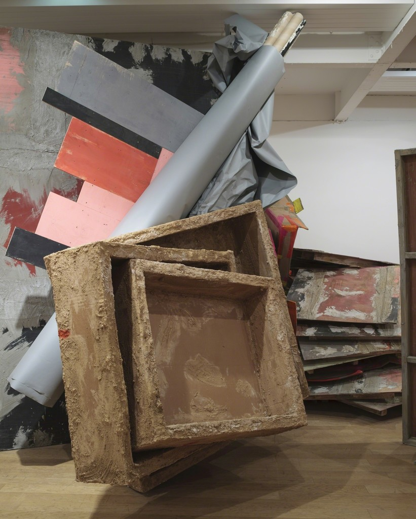 Phyllida Barlow: untitled: boxes,