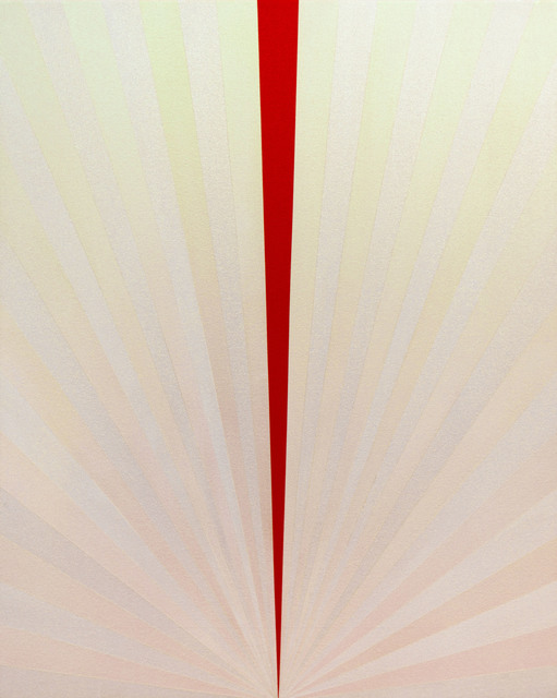 , 'Beam Drop (red) ,' 2014, Bernarducci Gallery