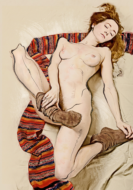 , 'For Schiele,' 2007, Faur Zsofi Gallery