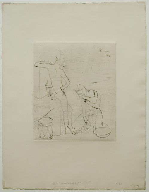 , 'Le Bain,' 1905, John Szoke