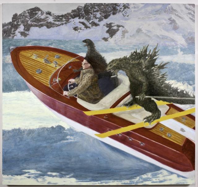 , 'J.J. Takes Gojira on a Ski Date ,' 2016, Bivins Gallery