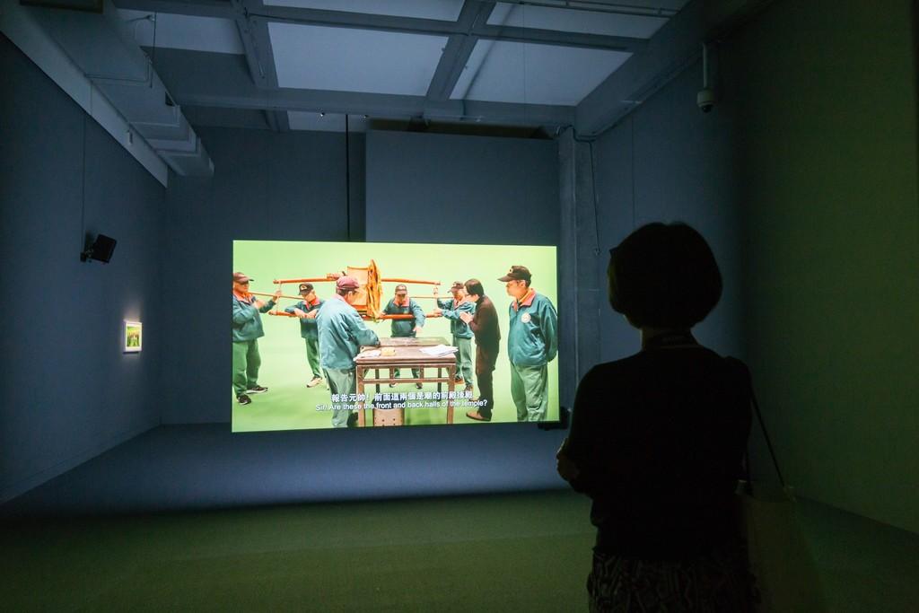 Installation Shot of works of Chia-Wei HSU 許家維©TFAM 臺北市立美術館