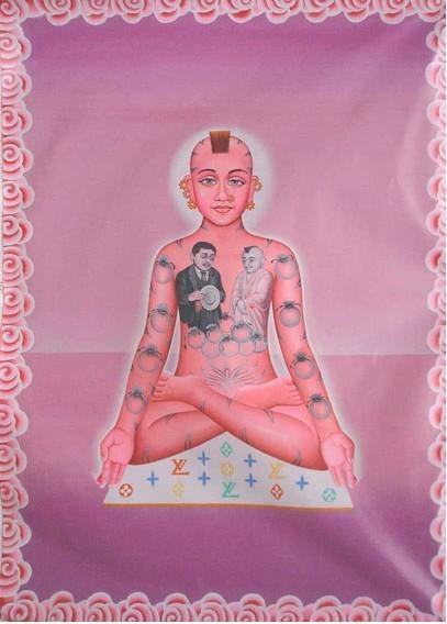 Alexis Kersey, 'Buddha on Louis Vuitton', 2008, Emmeotto Arte
