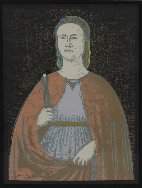 Andy Warhol, 'Saint Apollonia (FS II.331)', 1984, Print, Screenprint on Essex Offset Kid Finished Paper, Revolver Gallery