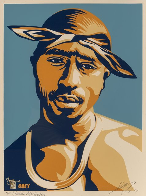 Shepard Fairey, 'Tupac Red', 2004, Heritage Auctions