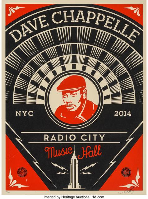 Shepard Fairey, 'Dave Chappelle Print', 2014, Heritage Auctions