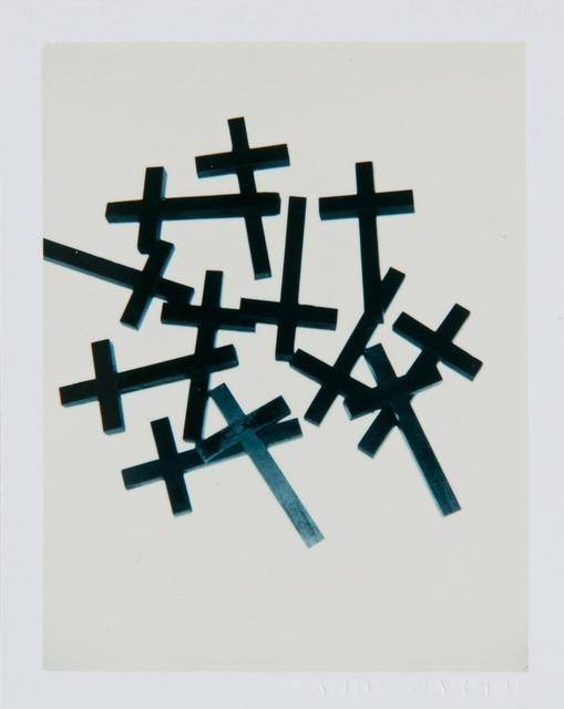 Andy Warhol, 'Andy Warhol, Polaroid Photograph of Crosses II, 1982', 1982, Hedges Projects