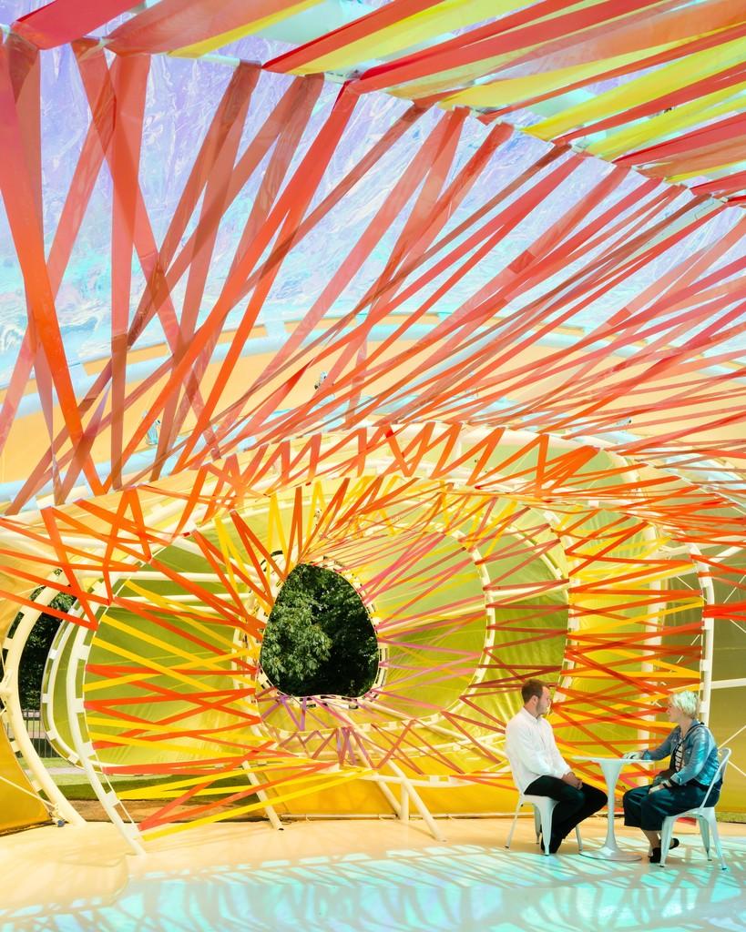 Serpentine Pavilion 2015 designed by selgascano. © Jim Stephenson