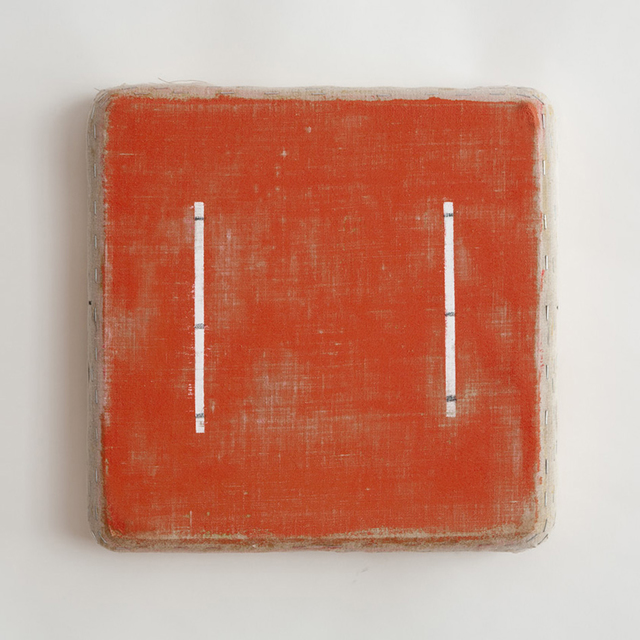 , 'Eight Lines, Red,' 2010, annex14