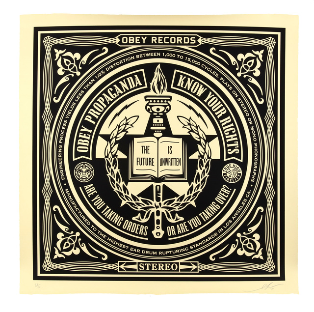 Shepard Fairey (OBEY), 'Know Your Rights (Large Format)', 2014, Chiswick Auctions