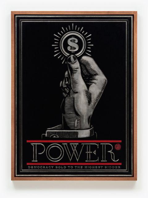, 'Power Bidder, Plate,' 2015, Pace Prints