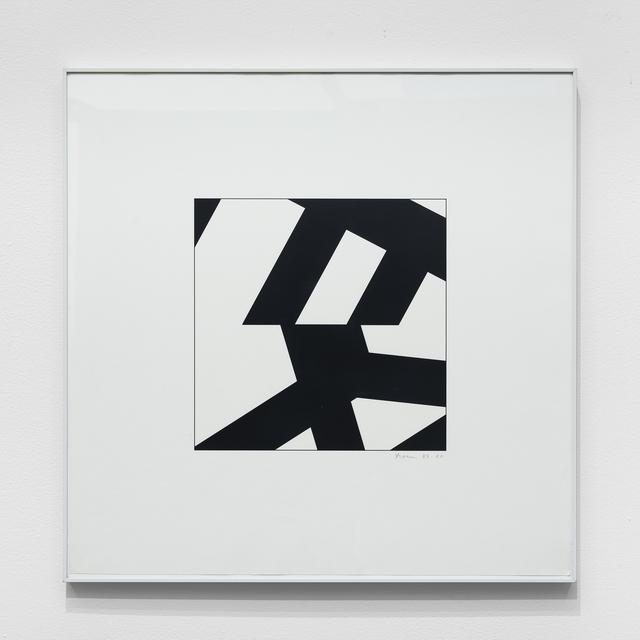 , 'P-201-25,' 1977-1978, bitforms gallery