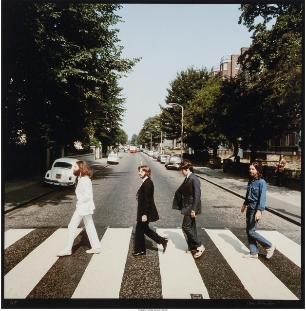 Iain Macmillan, 'Abbey Road (two photographs)', 1969, Photography, Dye coupler, Heritage Auctions