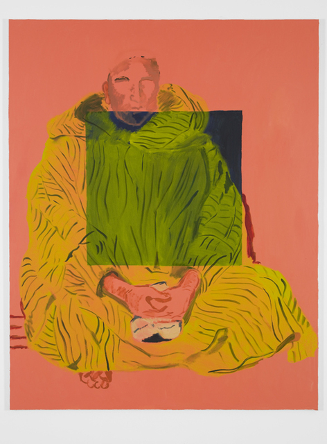 Allison Katz, 'The Thick Pink Square', 2013, Johan Berggren Gallery