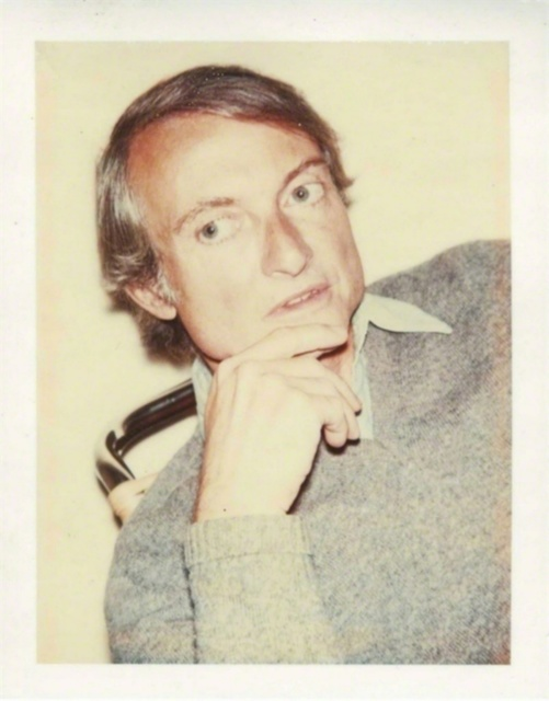Andy Warhol, 'Roy Lichtenstein (Authenticated)', 1975, Photography, Polaroid dye diffusion print. Authenticated and stamped by the Estate of Andy Warhol/Warhol Foundation for the Visual Arts, Alpha 137 Gallery