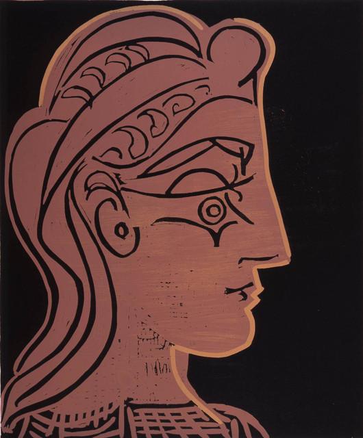 , 'B905 Tête de femme (de profil),' 1959, John Szoke