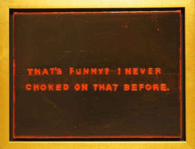 , 'Untitled (That's Funny),' 1999, Wilding Cran Gallery