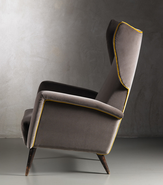 , 'Pair of Bergere armchairs,' 1950, Nilufar Gallery