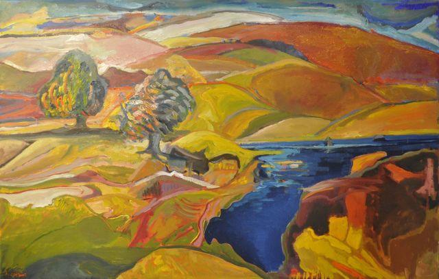, 'Blue Lake 1543,' 2015, Galerie de Bellefeuille