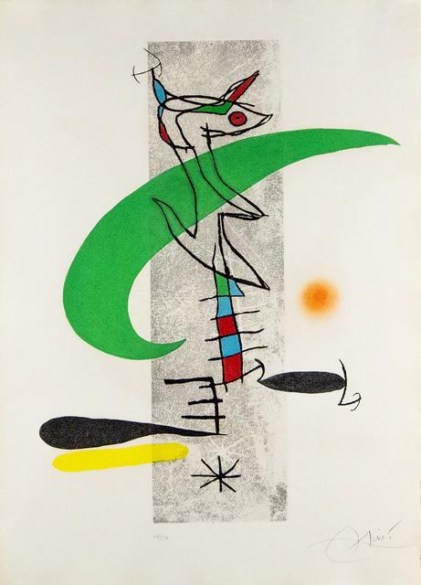 Joan Miró, 'La Translunaire', Heather James Fine Art: Color Curation   Modern and Contemporary