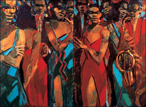 , 'Jamboree,' , Zenith Gallery