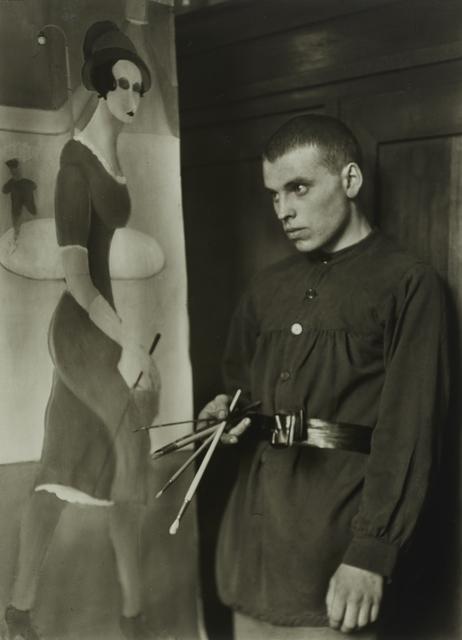 , 'Painter [Gottfried Brockmann],' 1924, Galerie Julian Sander