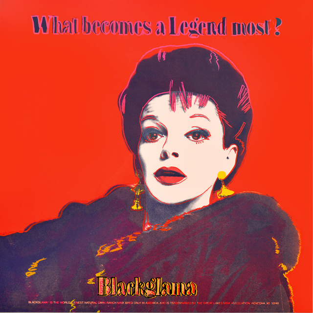 , 'Judy Garland Blackgama from the Ads Series,' 1985, Masterworks Fine Art