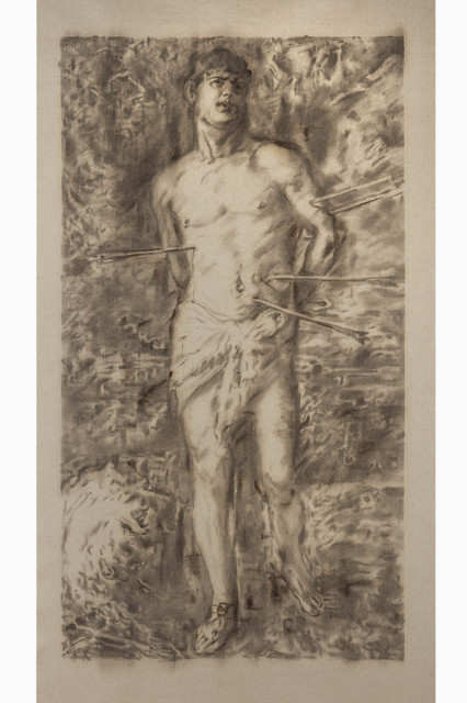 RASSIM®, 'TITIAN. Saint Sebastian', ONE Gallery