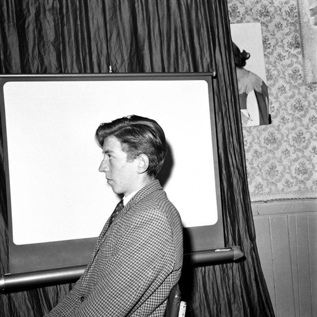 Dennis Dinneen, 'Untitled (side profile with curtain)', 1950-1970, Jackson Fine Art