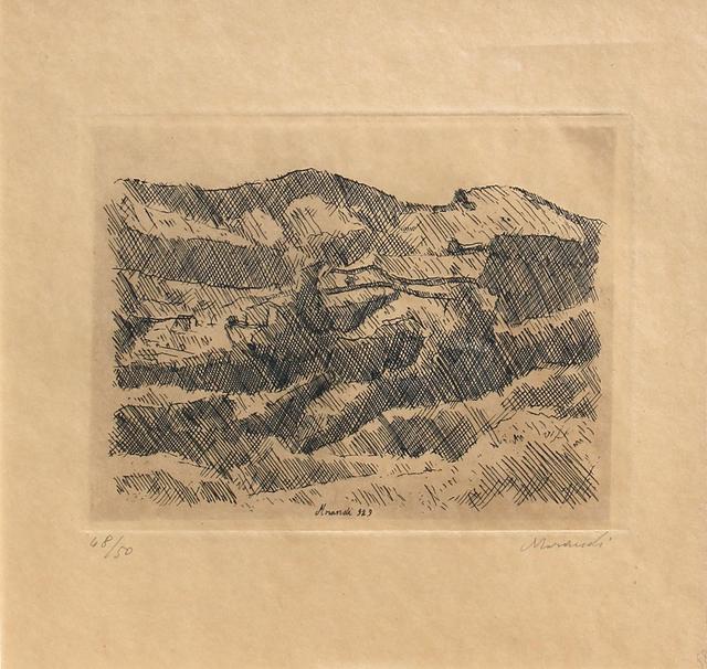 Giorgio Morandi, 'Monti di Grizzana', 1929, Ambrosiana Casa d'Aste