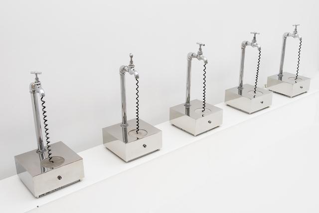 , ' Five sound taps ,' 1973, GALERÍA JOSÉ DE LA MANO