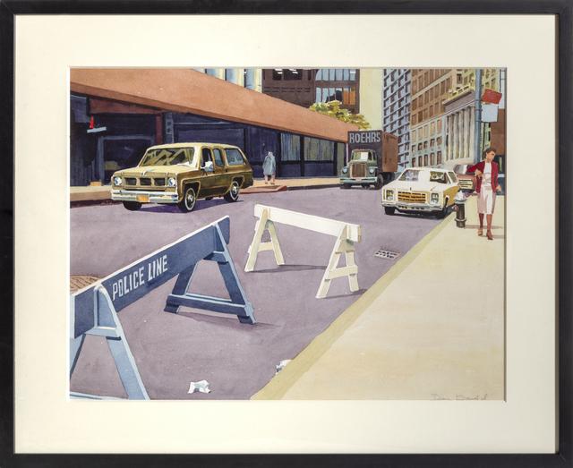 Don david, 'Police Line', ca. 1980, RoGallery